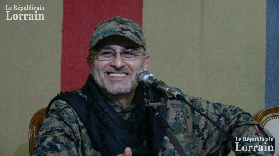 Kiongozi mkuu wa Hezbollah Mustafa Badreddine.