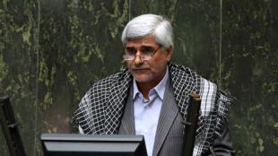 Mohammad Farhadi, le 26 novembre 2014, devant le Parlement iranien.