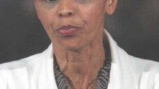 Marina Silva, présidente du parti Vert, Brésil.