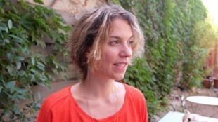 Maëlle Poésy, metteuse en scène du spectacle «Sous d'autres cieux» au Festival d'Avignon.