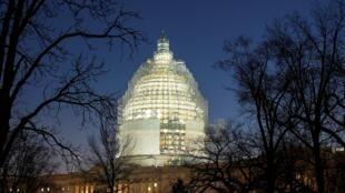 美國華盛頓國會山 2015年2月11日