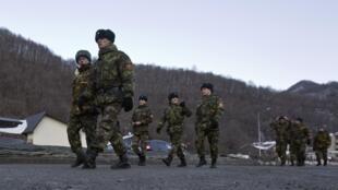 Des soldats russes dans la région de Sotchi, le 4 janvier 2014.