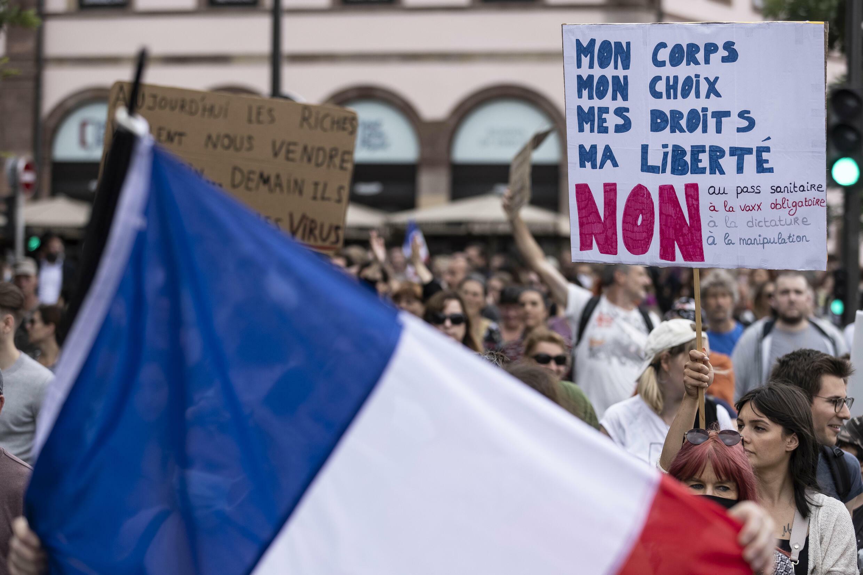 Manifestations passe sanitaire France