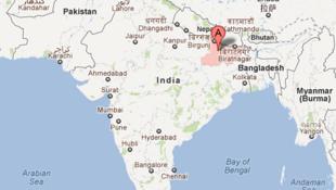 Bihar region in India