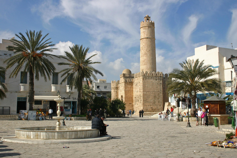 Centre de Sousse, Tunisie.