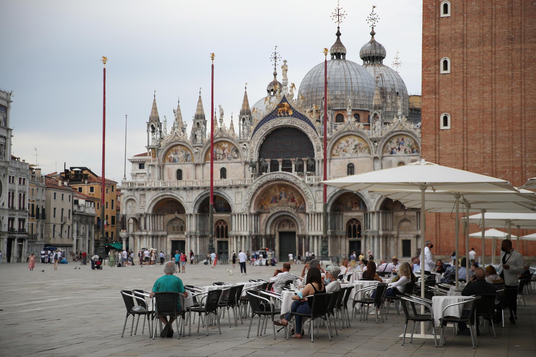 6月7日的威尼斯聖馬克廣場