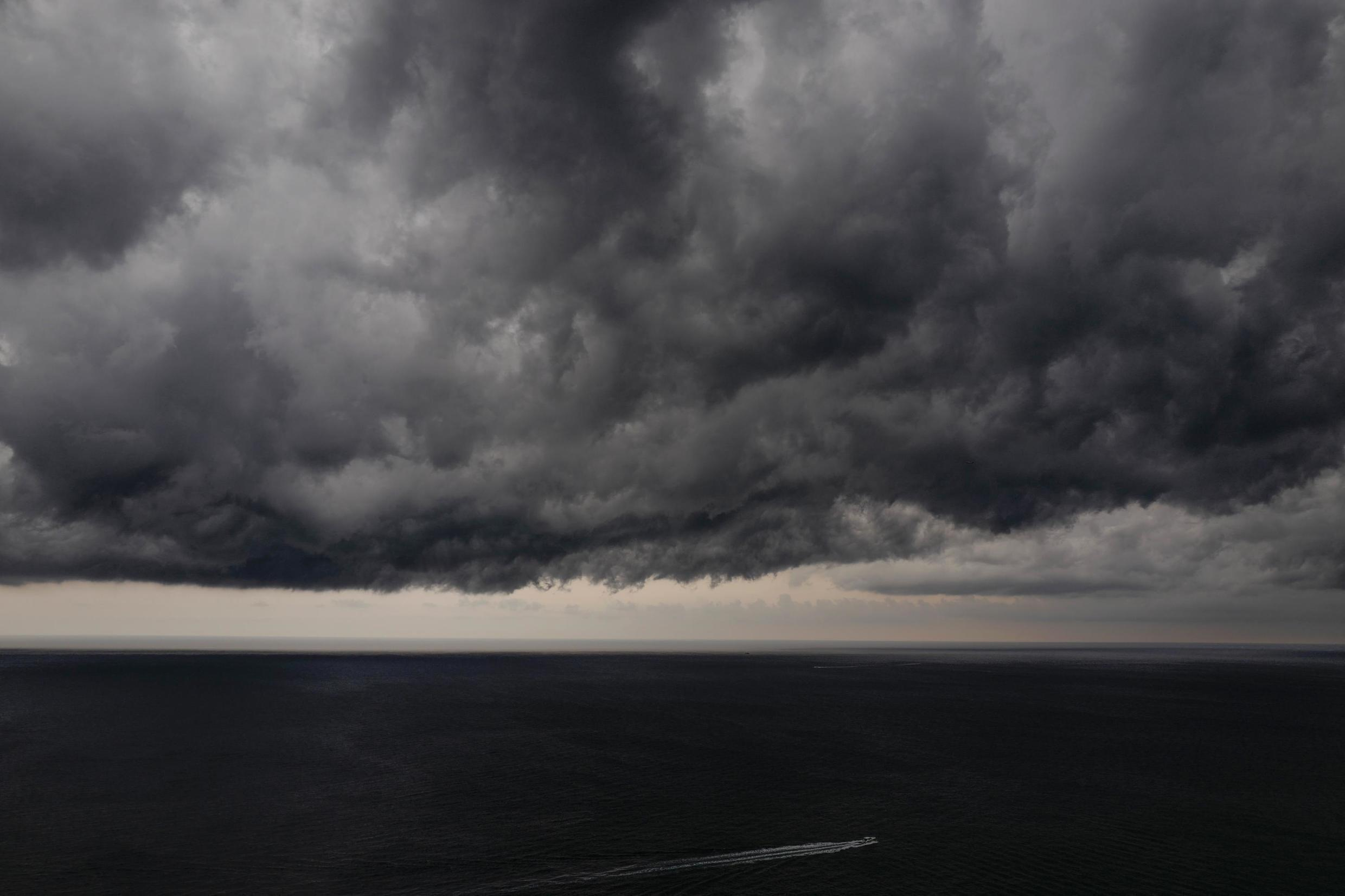 Four departments in south-western France have been put on orange alert, the second-highest weather warning.