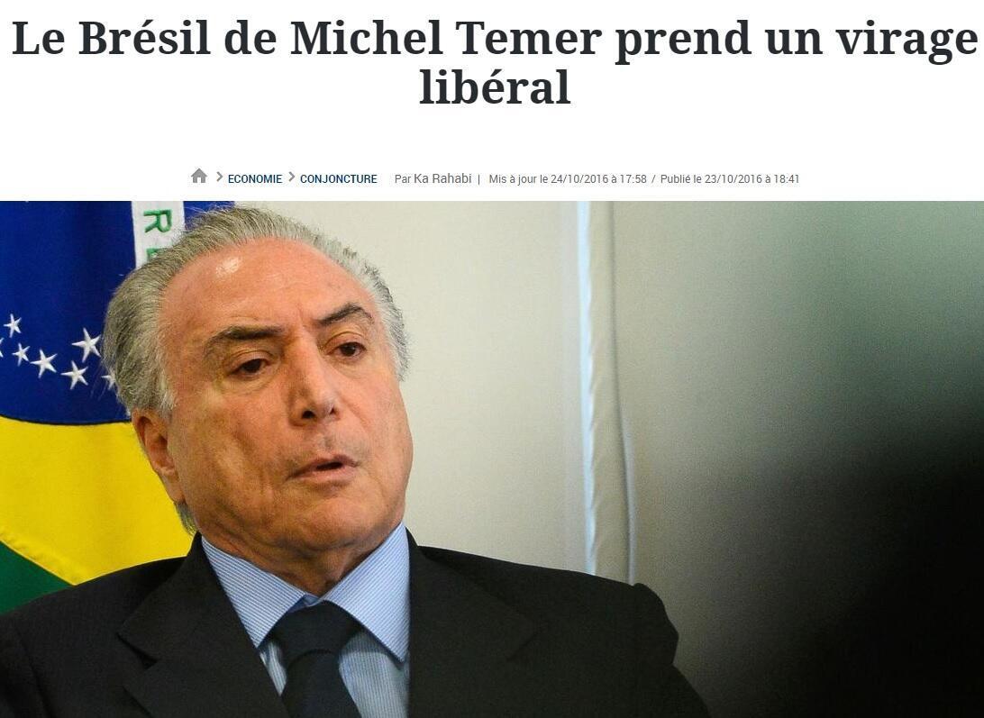 Matéria publicada pelo jornal Le Figaro nesta segunda-feira (24).