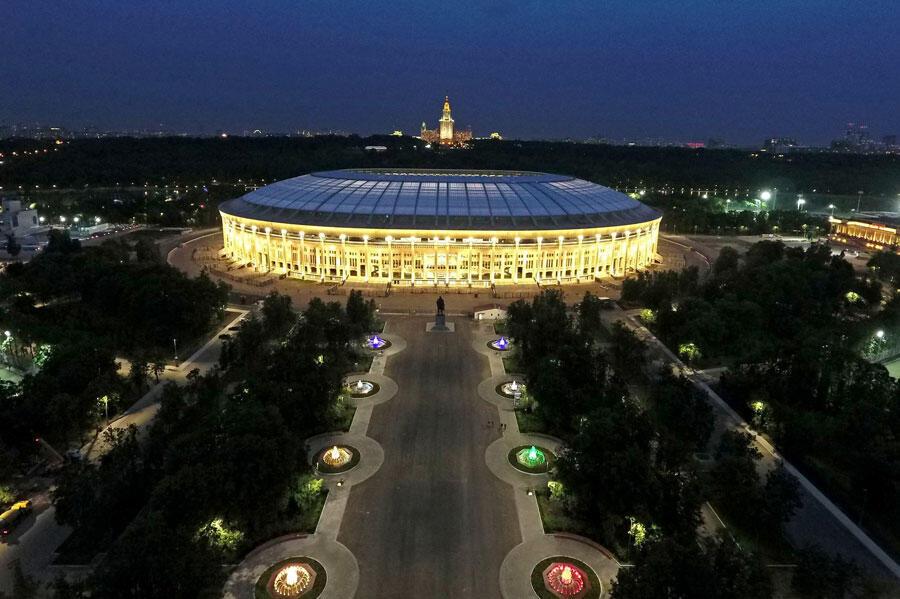La finale de la Coupe du monde de football 2018 se jouera au stade Loujniki à Moscou en Russie.