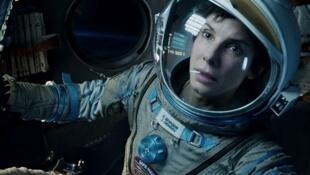 """Sandra Bullock protagoniza """"Gravity""""."""