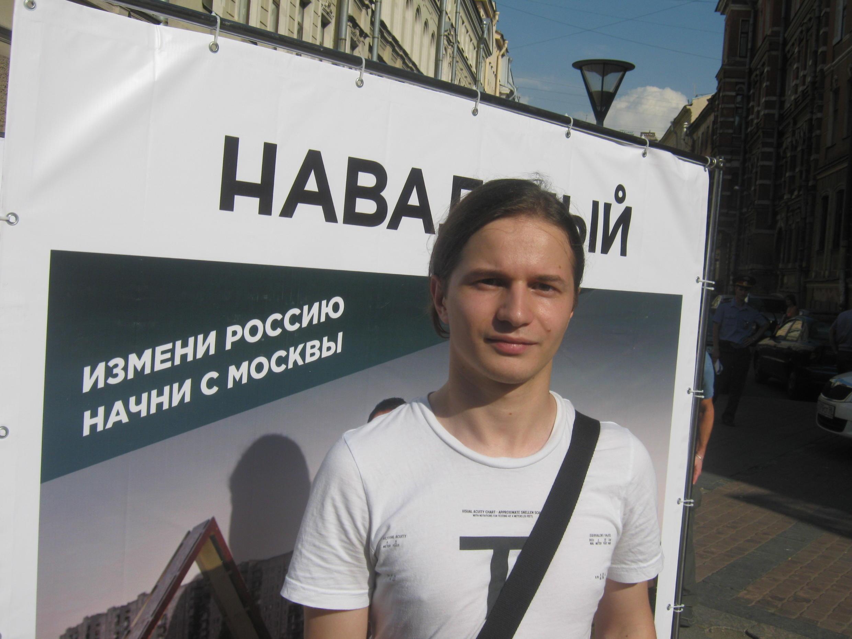 Пресс-секретарь петербургского отделения партии «Народный Альянс» Виктор Воробьёв