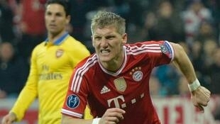 Dan wasan Bayern Munich Bastian Schweinsteiger