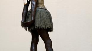 Edgar Degas' work often featured dancers: Petite danseuse de quatorze ans (1879-1881)