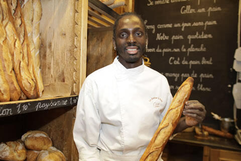 Djibril Bodian obtuvo el premio a la mejor baguette de París entre 231 concursantes.