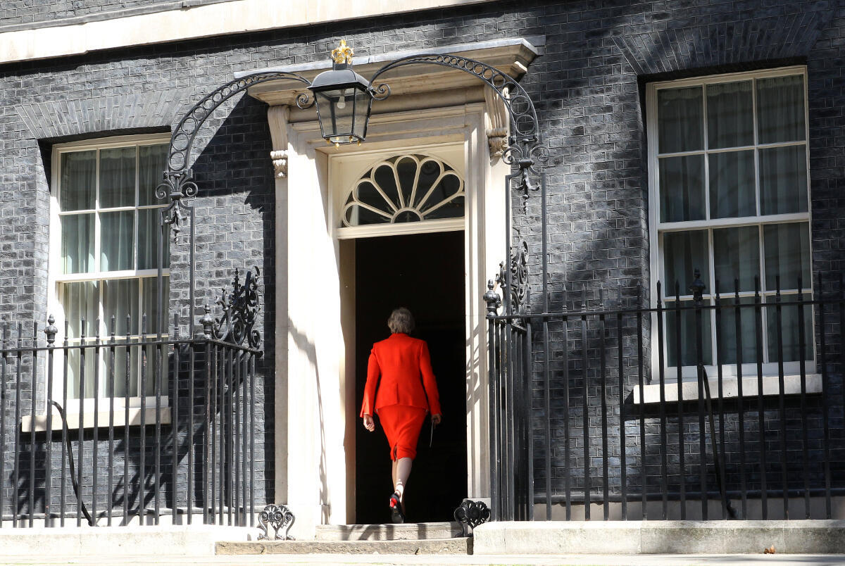 La Première ministre britannique Theresa May démissionnera officiellement le 7 juin 2019.