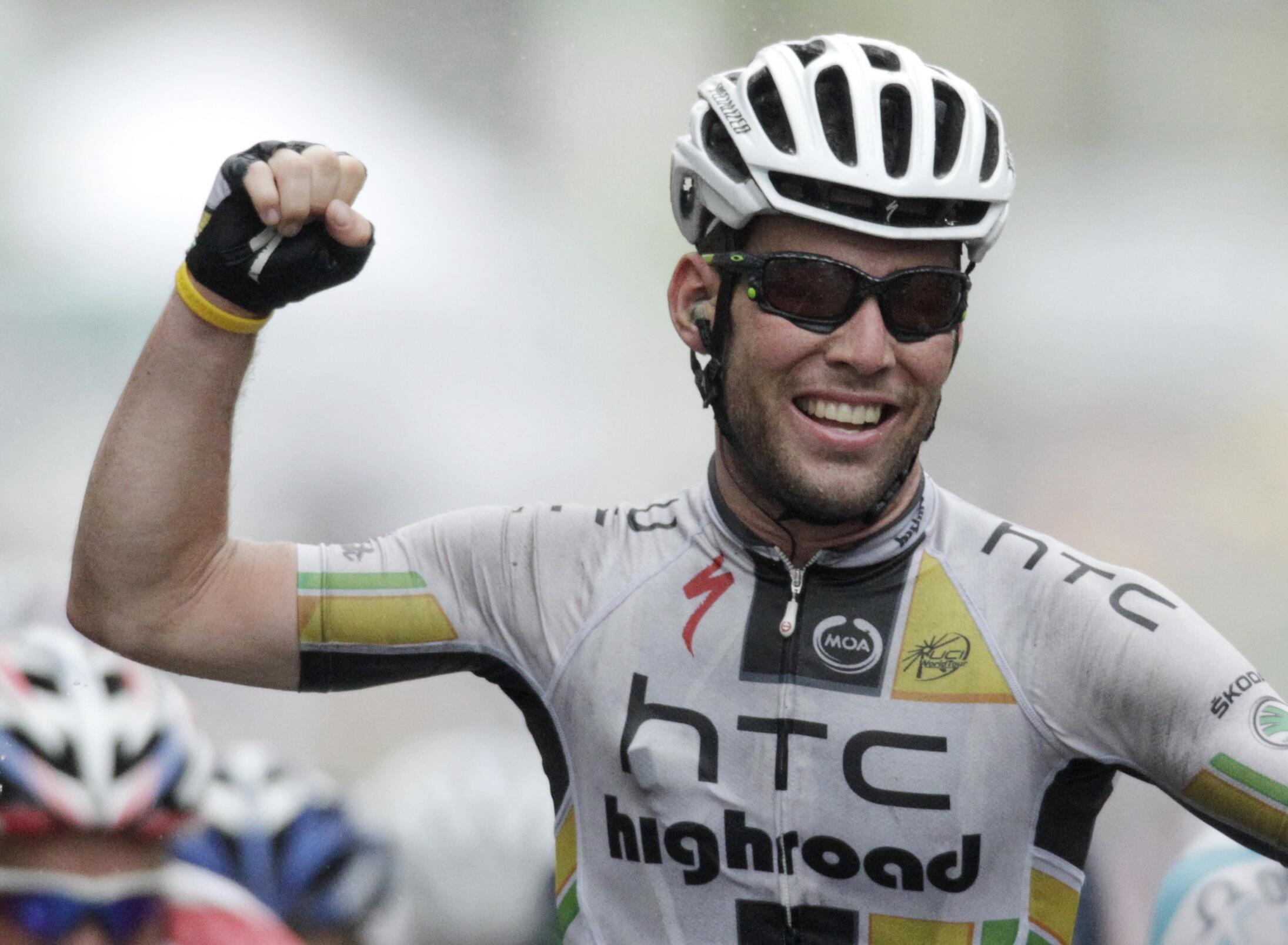 """Британец Марк Кавендиш на """"Тур де Франс - 2011"""""""