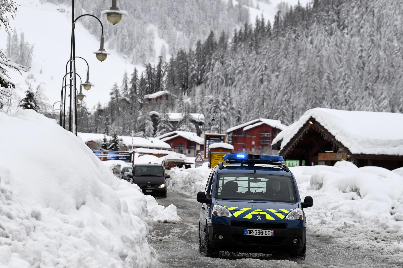 The Val d'Isère ski resort