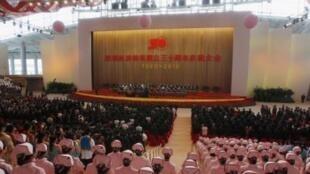 前不久举行的深圳三十周年庆祝活动