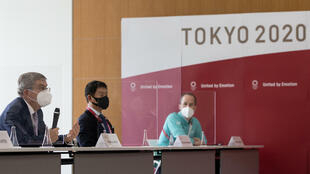 Olympics chief Thomas Bach (L) has praised Tokyo has the 'best-ever prepared' host city