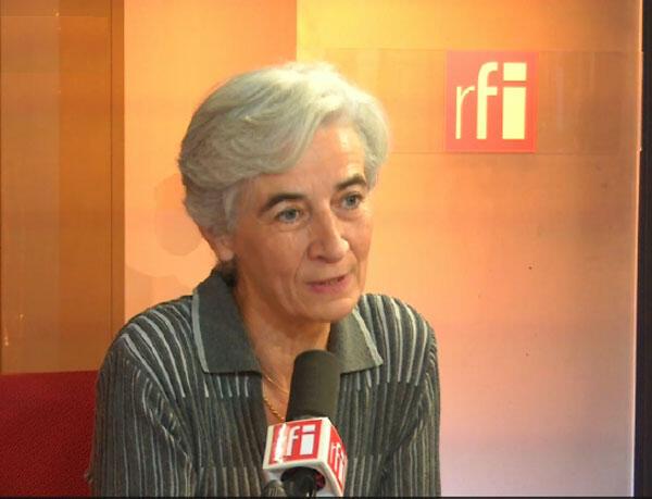 Véronique Fayet, présidente du Secours catholique - Caritas France