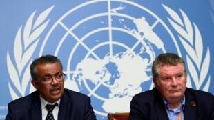 Risco de pandemia mundial do coronavírus, afirma director geral da OMS, Tedros Adhanom Ghebreyesus