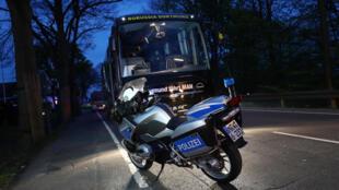 Le bus du Borussia a été touché mardi soir 11 avril par trois explosions d'engins faits pour tuer, selon les enquêteurs.