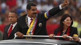 O presidente venezuelano, Nicolás Maduro, no dia de sua posse, em 19 de abril de 2013.