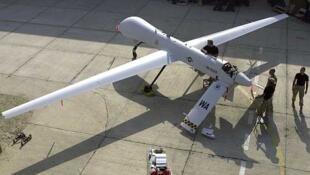 Un dron 'Predator', el tipo de avión no tripulado que se suma al aparato bélico de la coalición internacional.