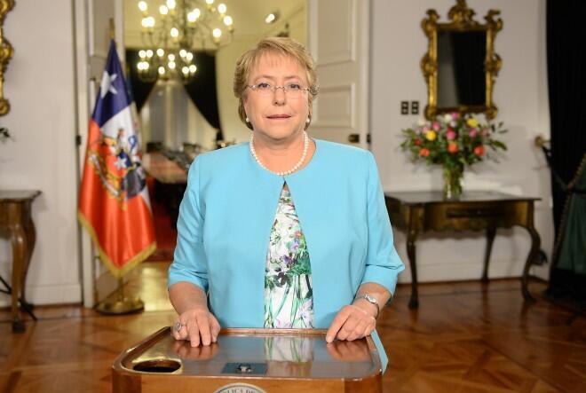 La présidente du Chili, Michelle Bachelet, a annoncé une réforme constitutionnelle qui doit démarrer en septembre prochain.