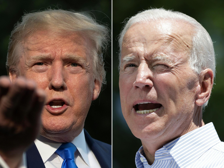 Donald Trump da Joe Biden,yan takara a zaben Amurka