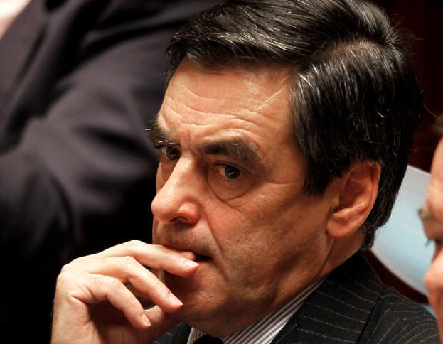 France's Prime Minister Francois Fillon at the French National Assembly, 8 February 2011.