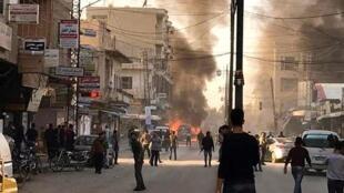 Взрыв в сирийском городе Камышлы, 12 ноября 2019