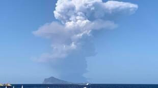 Página Etna Volcano, no Facebook, acompanha atividades do vulcão italiano.
