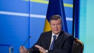 Виктор Янукович 22 февраля 2013