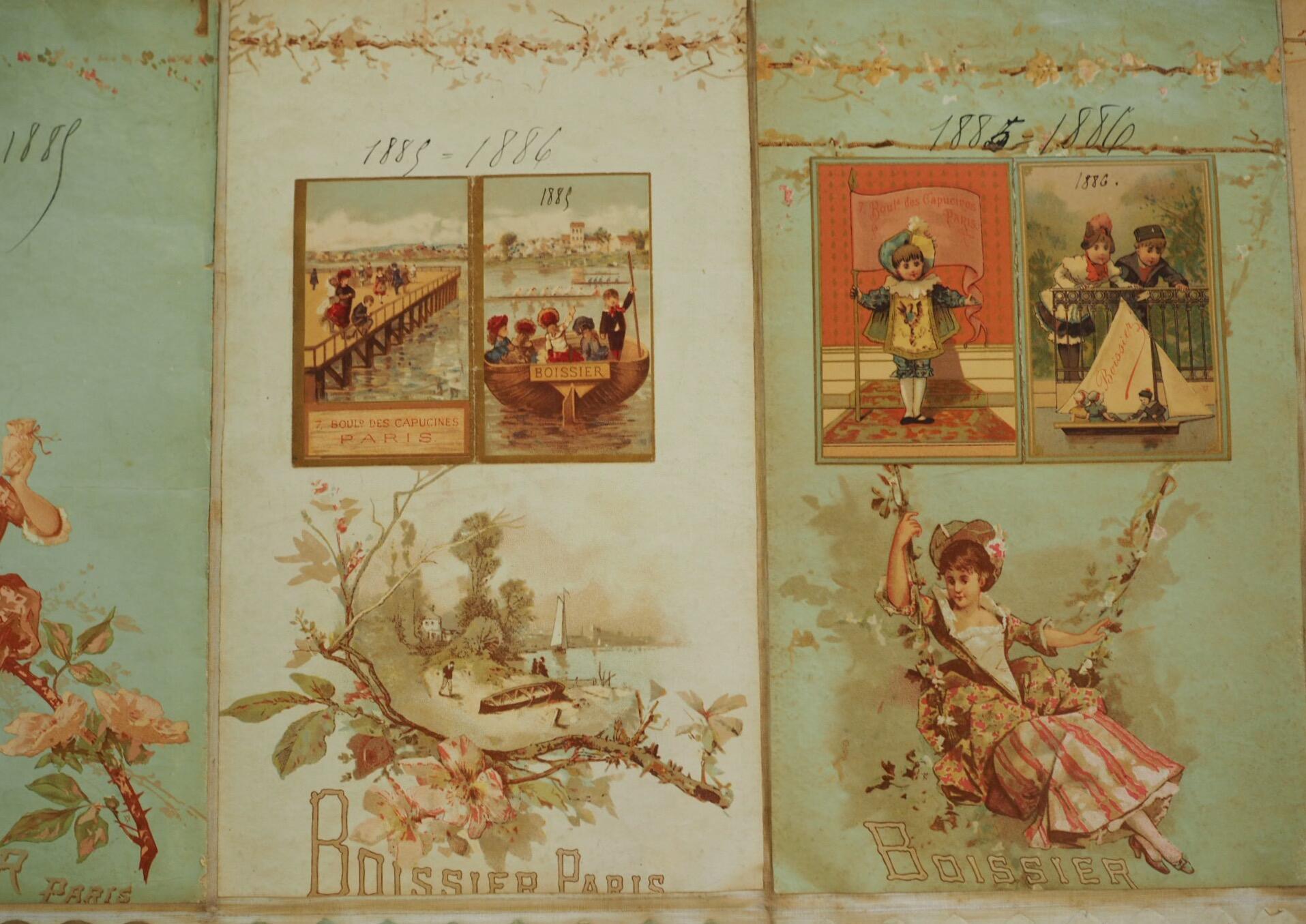 Datant de 1885, les emballages Boissier demeurent élégants.