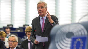 "EU chief negotiator Michel Barnier said Wednesday reports of a deal on a divorce settlement with Britain were ""rumours"", but took on his most hopeful tone about the separation talks in months."