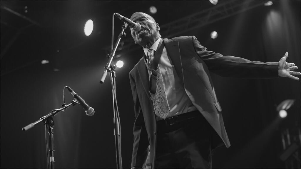 Maceo Parker, en concert le 20 octobre 2018, au Parc de la Pépinière à Nancy.