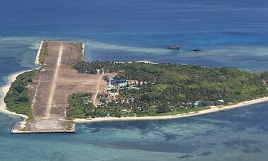 Thitu island in 2015 中業島 2015年