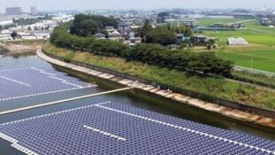 O Hydrelio, tecnologia flutuante para gerar energia solar da empresa francesa com filial no Brasil, Ciel & Terre.