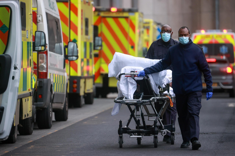 Reino Unido mortos virus