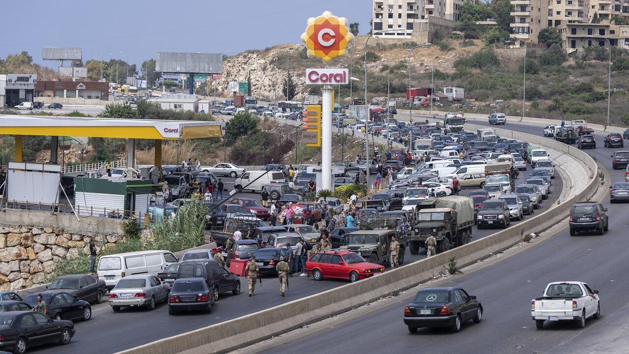 PHOTO Station essence Liban