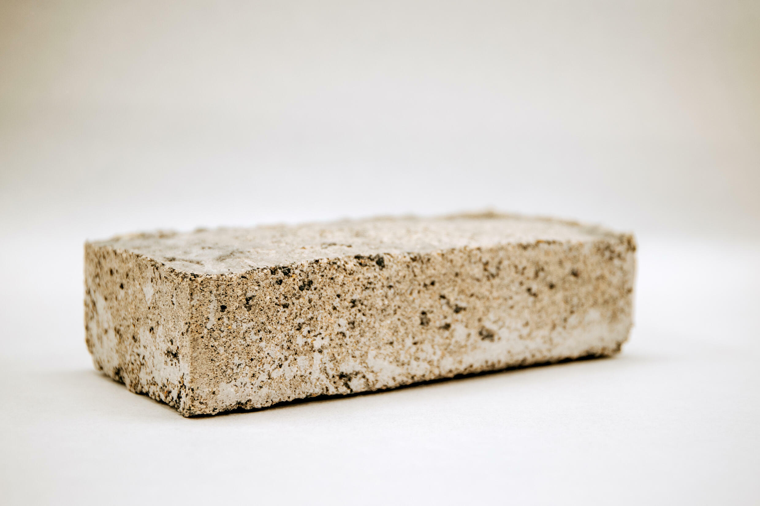 The bio-brick has been perfected to be stronger and use less energy to produce than conventional bricks.