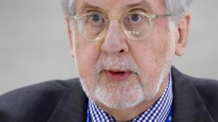 Paulo Sérgio Pinheiro, presidente da comissão de Inquérito das Nações Unidas sobre a Síria