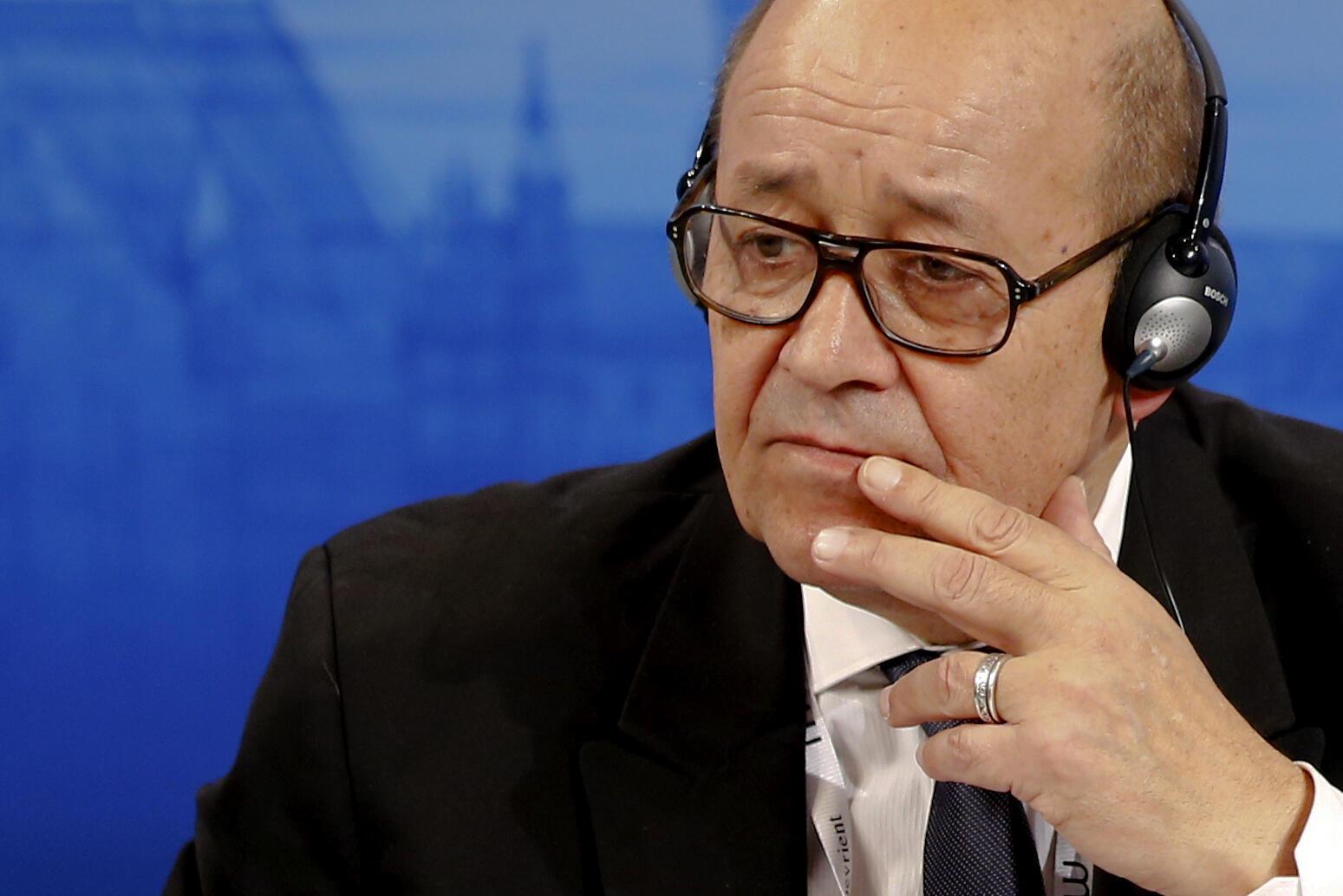 Ministan harkokin wajen Faransa Jean Yves Le Drian