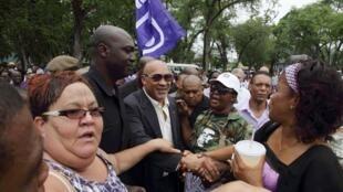 Le président du Suriname, Desi Bouterse.