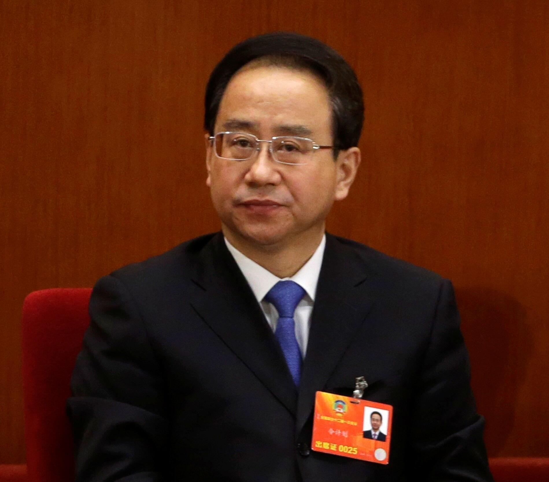 Ông Lệnh Kế Hoạch (Ling Jihua) trong một cuộc họp tại Bắc Kinh, đầu năm 2013.