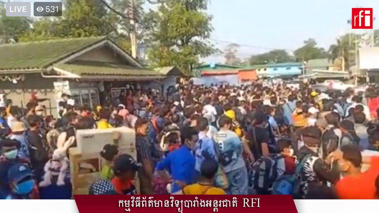 Cambodian workers still work in Thailand