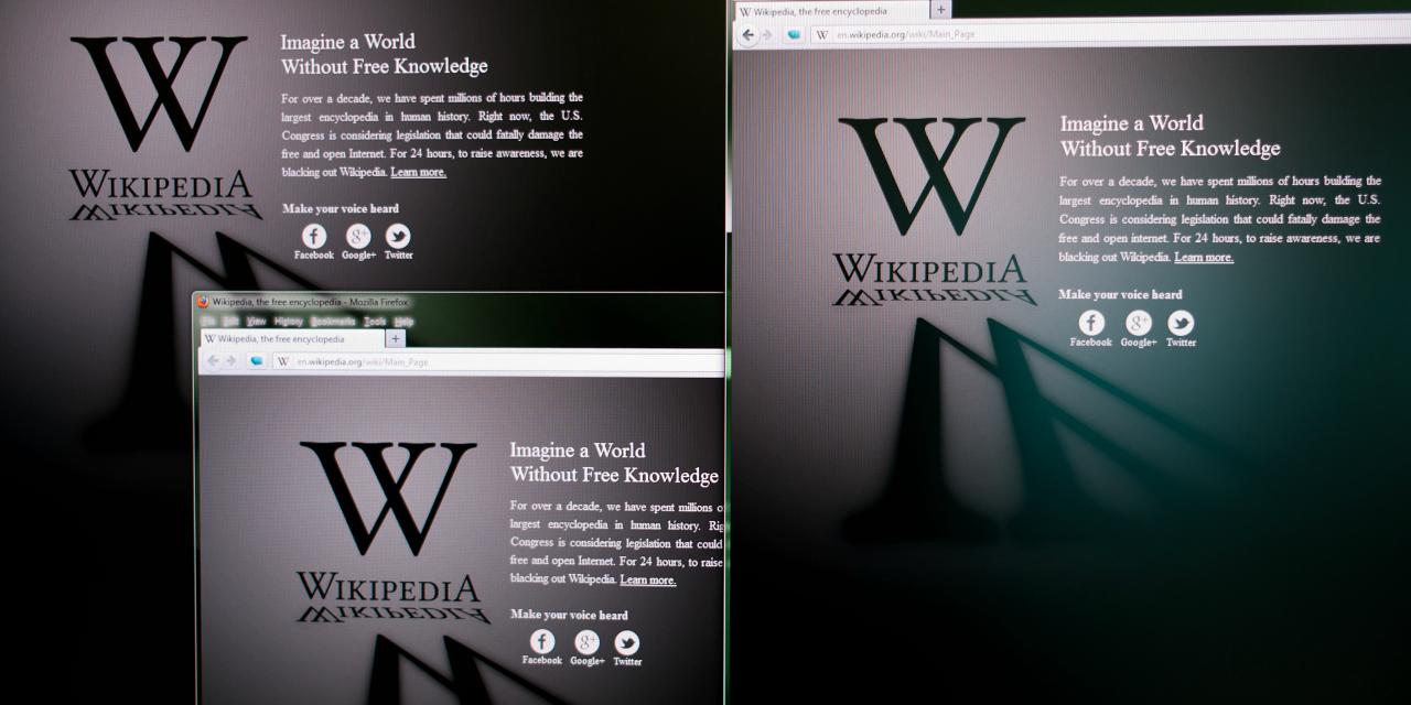 """تارنمای دانشنامه """"ویکیپدیا""""، از صبح شنبه ۹ اردیبهشت/ ۲۹ آوریل برای همه زبانها در ترکیه مسدود شد"""