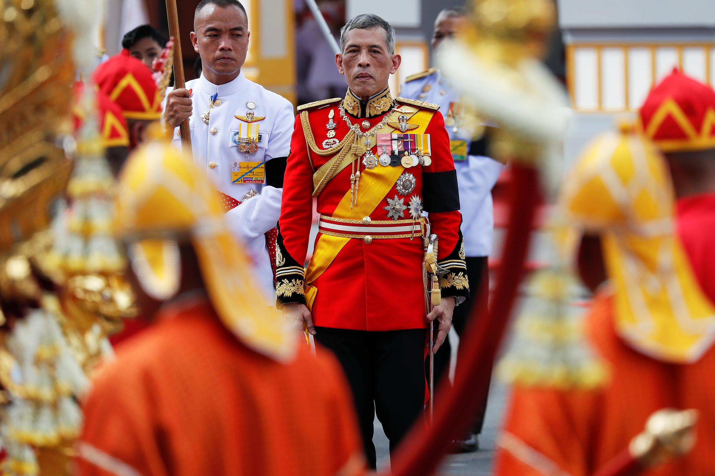Vua Thái Lan Maha Vajiralongkorn, trong lễ an táng vua cha, ngày 26/10/2017