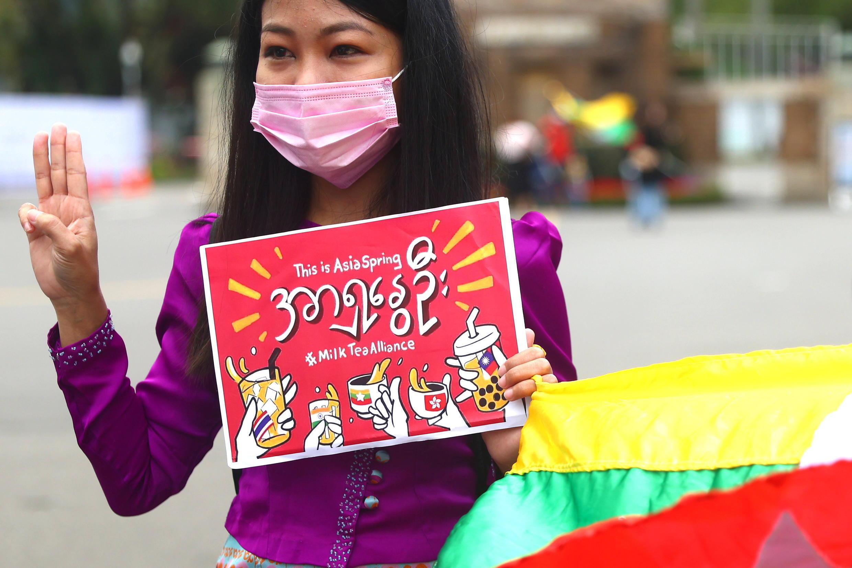 3_MYANMAR-POLITICS-TAIWAN Milk Tea